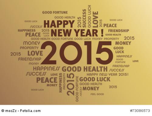 Neujahrsgrüße 2015