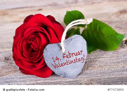 Valentinstag Erinnerung
