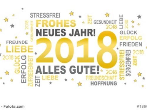 Ein frohes neues Jahr 2018